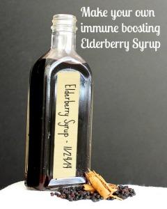 Elderberry syrup photo